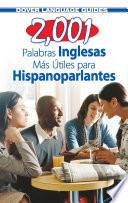 2,001 Most Useful English Words for Spanish Speakers