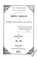 Archivo americano y espiritu de la prensa del mundo