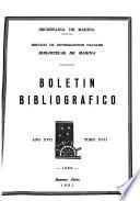 Boletín bibliográfico - Bibliotecas de la Armada