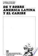 Catálogo de revistas de ciencias sociales de y sobre America Latina y el Caribe