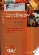 Directorio de la Exportación