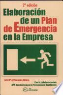 Elaboración de un plan de emergencia en la empresa. 2a edición