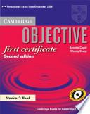 Objective First Certificate Student's Book with Answers and 100 Tips Writing Booklet Pack Spanish Edition