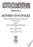 Obras de doña Gertrudis Gómez de Avellaneda