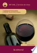 Servicio de vinos. HOTR0508