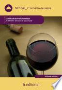 Servicio de vinos. HOTR0608